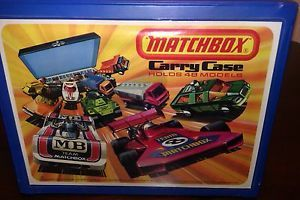 Matchbox Car Carrying Case