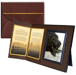 """I Loved You Best"" Memorial Keepsake Picture Frame Pet Loss Sympathy Gift"