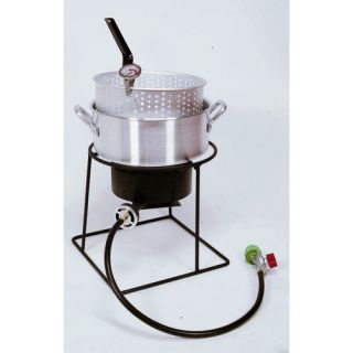 King Kooker Welded Outdoor Fish Fryer Package with 10 Quart Deep Fryer