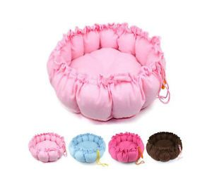 Big Pet Puppy Dog Cat Soft Warm Fleece Pet Bed Sleeping Pumpkin Bag