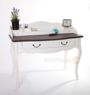 Brompton 'Shabby Chic' French Dressing Table Desk Drawers