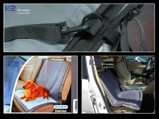 "39""x24"" Pet Dog Front Car Seat Cover Protector Hammock"
