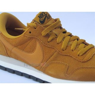 Scarpe Nike Air Pegasus 83 599129 770 Uomo Running Retrò Casual Gold Suede