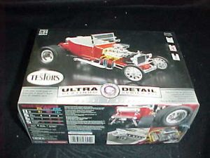 Testors 1 24 Model T Bucket Street Rod Platinum Series Metal Car Model Kit 0045