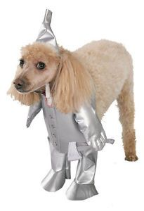 Tin Man Wizard of oz Cute Dress Up Halloween Pet Dog Cat Costume