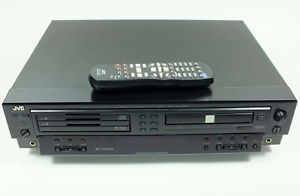 JVC 3 to 1 CD CDR Multiple Compact Disc Recorder Player XL R5020BK