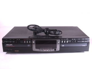Philips CDR 765 Dual Tray CD Audio Recorder Burner