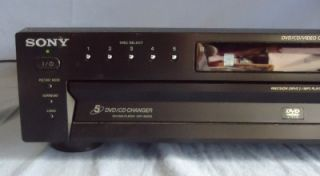 Nice Tested Working Sony DVP NC615 DVD CD Video 5 Disc Changer Player