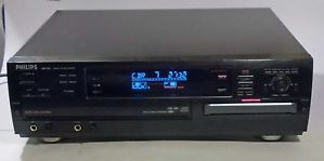 Philips CDR 785 CDR785 CD Recorder with 3 Disc Changer Player Works Great 037849893685