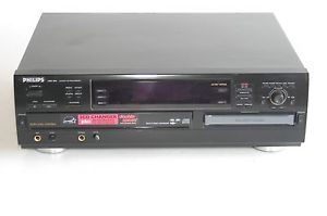 Philips Stereo Compact Disc Multi CD Player Changer Recorder CDR785 Burner