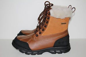 "Skechers Winter Boots ""Trail Mix Heat"" Women's Size 7 5 Winter Snow Boots"
