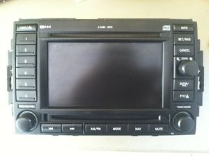 2005 Dodge Magnum CD Player 6 Disc CD DVD Navigation Radio Fits Other Cars