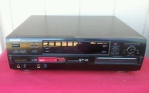 Philips CDR 785 3 Disc CD Changer Recorder with Remote and Power Cord