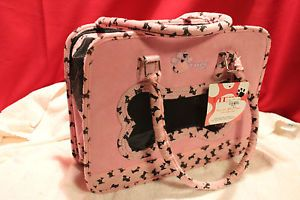Ritz Paw Pink Designer Pet Carrier Tote for Small Dogs