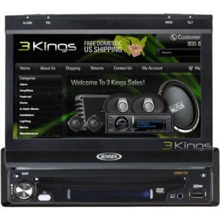 New Jensen VM9115 Touch Screen in Dash DVD Player Car Radio Single DIN VM 9115