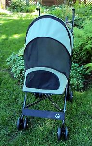 Pet Gear Travel Lite Stroller for Cats Dogs Small Animals Sage Cat Stroller