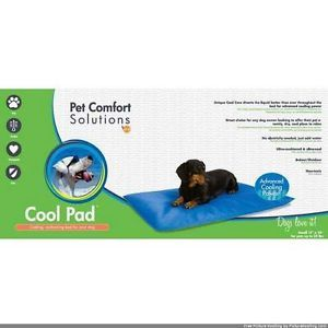 "K H Pet Products Pet Comfort Solutions Cool Pad Dog Mat Small Blue 17"" x 24"" x 1"