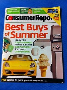 Consumer Report June 2013 Gas Grills Lawn Mowers Paint Stain Ice Cream