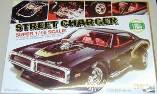1 16 Large 1971 Dodge Street Charger Model Kit MPC 1971 Dodge Charger 1 16 Kit