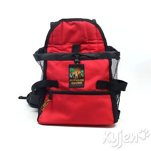 Kyjen Outward Hound Front Carrier Small Red for Pet Dog Travel Hike