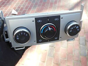 9153 Chevrolet Malibu 09 10 Temp AC Heat Climate Control Panel Unit Switch