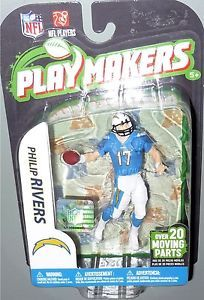 Philip Rivers McFarlane NFL Playmakers 3 San Diego Chargers 4 in Football Figure