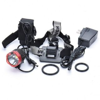XM L P7 1200LM Lumen CREE LED Bicycle Light Headlight Headlamp Battery Charger