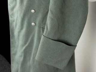 WWII German Army Infantry Officers Great Coat