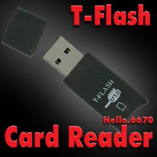 USB T Flash Micro SD Card Reader Writer 4 Mobile Phone