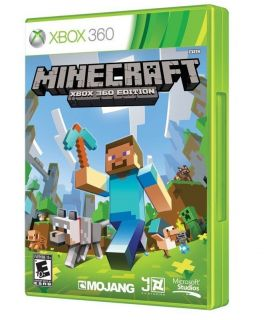 Minecraft Xbox 360 2013 USA Edition Brand New Factory SEALED 400029031724
