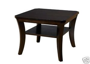 Contemporary Maple Small Square Coffee Table 4 Finishes