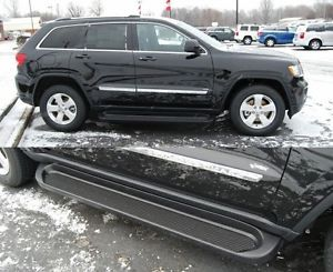 Custom Running Boards 2011 2012 Jeep Grand Cherokee Black Factory Style Steps