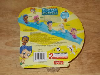 New 2013 Nickelodeon Fisher Price Bubble Guppies Rolling Figure Molly