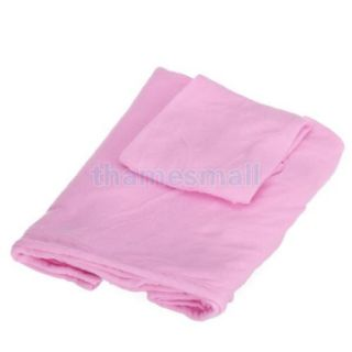 Pink Warm Soft Fleece Riding Travel Sofa Bed Couch Blanket w Sleeve Pockets Hot