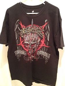 Slayer 2012 Tour Shirt Human Stain