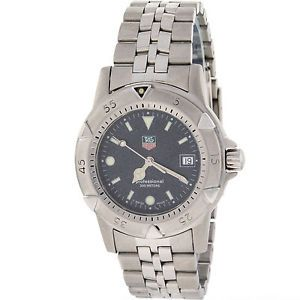 Tag Heuer Professional WD1211 K 20 Stainless Steel Swiss Quartz Mens Watch