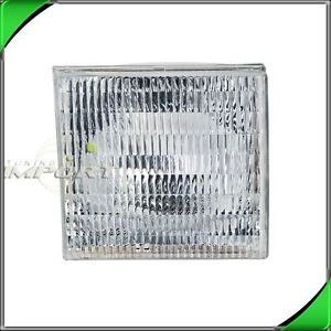 Right Side Head Light Lamp Assembly 1990 1994 Lincoln Town Car Clear Lense