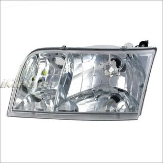 Left Side Head Light Lamp Assembly 1998 2010 Ford Crown Victoria Clear Lense