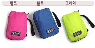 3 Colors Zipper Hanging Toiletry Travel Bag Organizer Case Travel Mate BA201