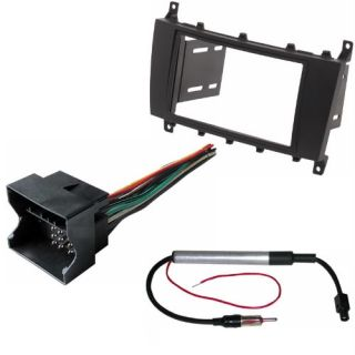 Radio Stereo Install Mount Double DIN Complete Dash Kit