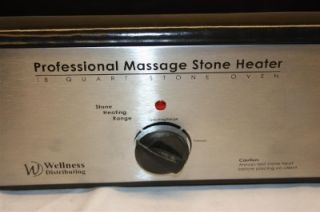 Wellness Distributing Massage Hot Stone Heater