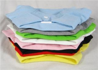 Dog Clothes Polo T Shirt Pet Tee Shirts Pet Clothing Wholesale 8 Blank Colors