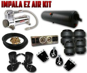 58 64 Chevy Bel Air Impala EZ Air Ride Kit FBSS Complete Air Suspension Kit