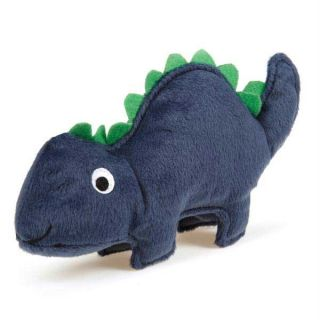 Zanies Dino Dog Plush Chew Toy Stego Dinosaur Rawr New