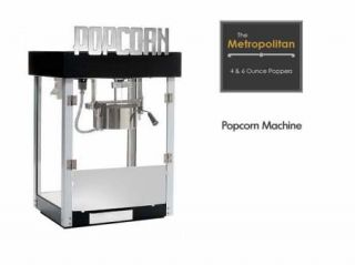 Commercial Quality Popcorn Machine for Home or Business