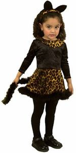 Cute Infant Baby Girl Cheetah Cat Halloween Party Costume 12 18 Months