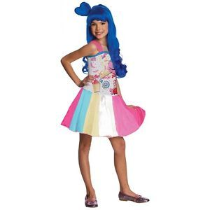 Candy Girl Costume Katy Perry Kids California Gurls Halloween Fancy Dress