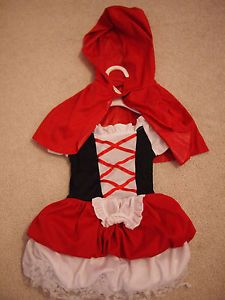 Little Red Riding Hood Toddler Costume Size 12 24 Months