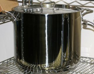 Cookware 18 Quart Professional Stainless Steel Commercial Stockpot Cookware
