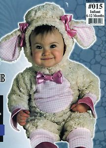 Adorable Infant Child Lil' Lamb Halloween Costume 6 12 Months Way Too Cute